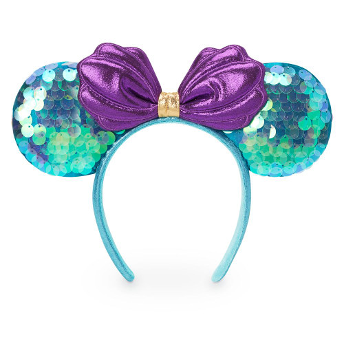 Disney Parks Ear Headband: Ariel Sequin