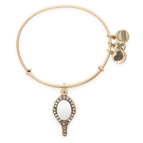 Alex & Ani Bangle Bracelet: Beauty And The Beast Belle Mirror