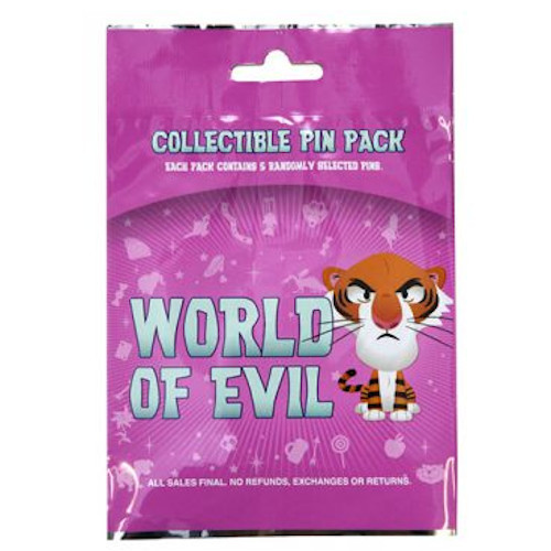 Disney Parks Pin Mystery Pack: World Of Evil