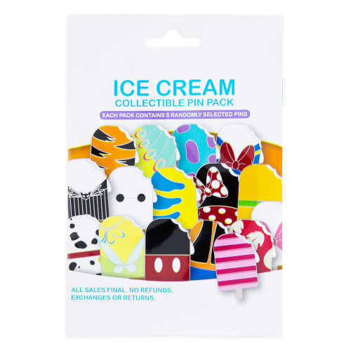Disney Parks Pin Mystery Pack: Ice Cream