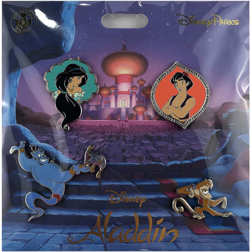 Disney Parks Pin Booster Set: Aladdin