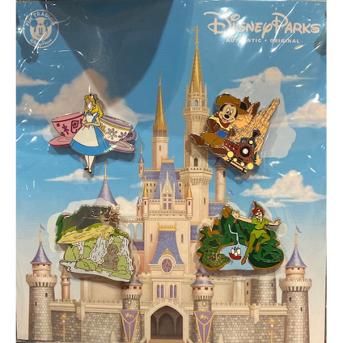 Disney Parks Pin Booster Set: Attractions