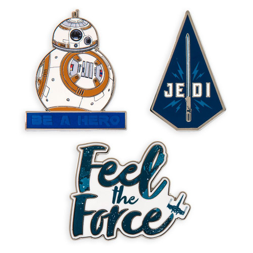Disney Parks Pin Set: Star Wars The Rise of Skywalker Quotes