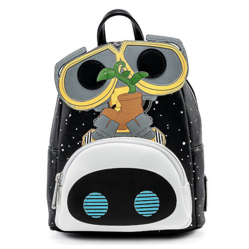 POP! By Loungefly Disney PIXAR Wall-E Eve Plant Boot Earth Day Cosplay Mini Backpack