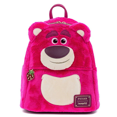 Loungefly Toy Story Lotso Cosplay Sherpa Mini Backpack