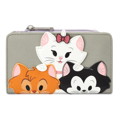 Loungefly Disney Parks Cats Wallet: Marie, Figaro & Oliver