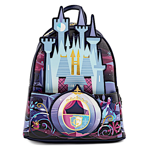 Loungefly Cinderella Castle Series Mini Backpack
