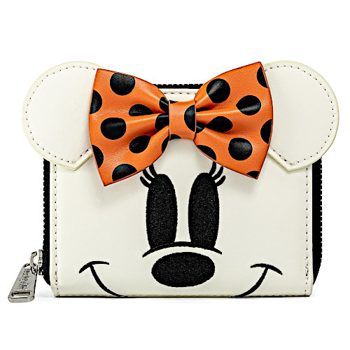 Loungefly Disney Halloween Ghost Minnie Mouse Wallet
