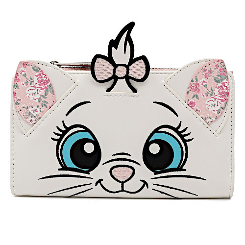 Loungefly Disney Aristocats Marie Floral Flap Wallet