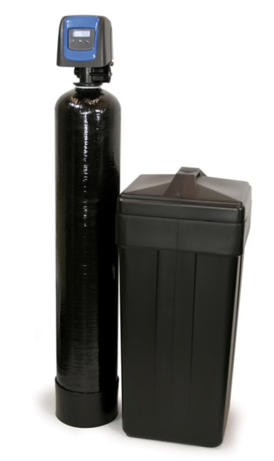 DURAWATER 9100SXT Fleck 9100 SXT Metered Dual Tank Softener 24//7 Soft Water 64,000 Grain Black