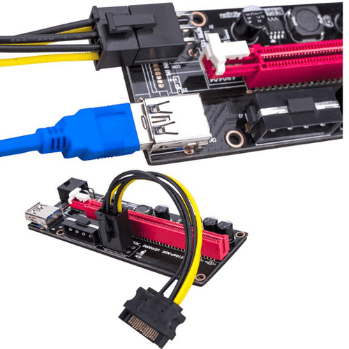 PCIE RISER VER 009S GPU EXTENSION FOR CRYPTO MINING