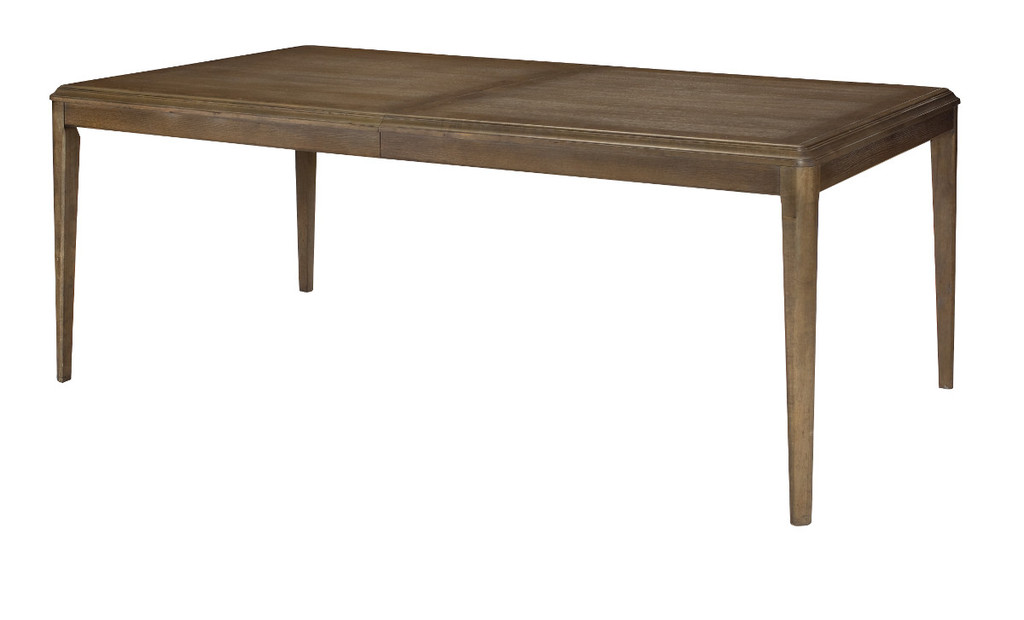 rectangular dining table in furniture store in Mexico