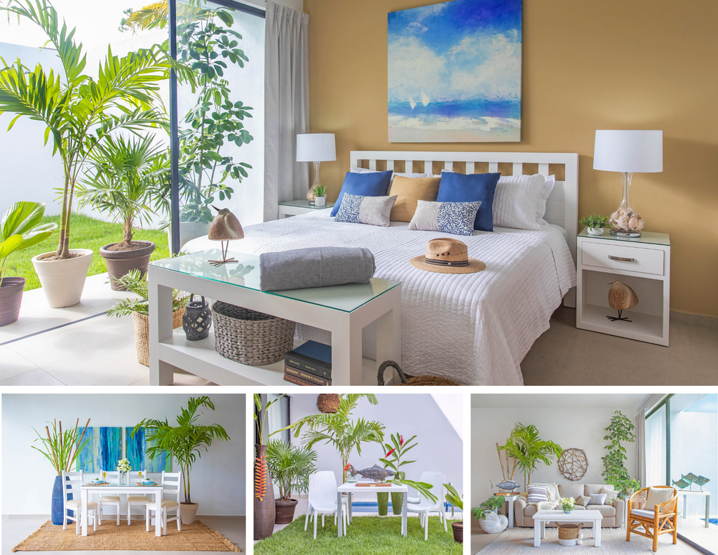 Coastal Package for the entire home.
