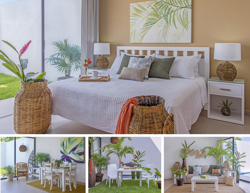 Tropical Package for the entire home.