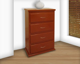 Chest Cajonera 4 Drawers Tradicional