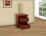 Nightstand 2 Drawers 40 x 50