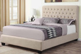 Chloe Upholstered Double Bed