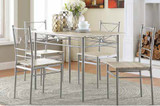 Taupe 5-pc Dinette Set