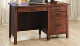 Red Brown Desk