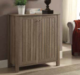 Weathered Grey Cabinet