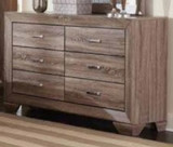 Kauffman 6 drawer Dresser
