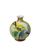 "Green Mix 12.25"" Decorative Vase"