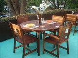 BENIDORM WOODEN DINING ROOM FOR 4 PEOPLE