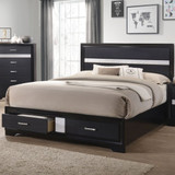 Miranda Queen Storage Bed with 2 drawers