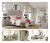 Our Vista Furniture package is a collection that can transform a home's décor into a daily retreat. From the soft gray tones of the finish to the natural character of its oak wood grain, each piece carries  the home into a relaxed state of mind.   Vista takes its inspiration from the colors, textures, and lines of the spaces we find most relaxing. Its design is infused with an airy persona that subtly speaks volumes.   The resulting style is an eclectic transitional look that blends well with a variety of architecture ranging from contemporary craftsman to new traditional.