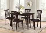 5-Piece Dining Set Cappuccino