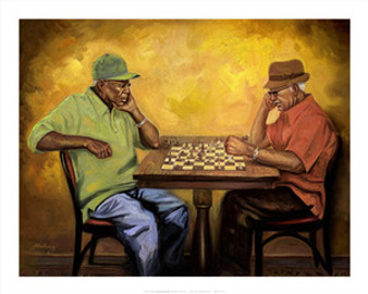 Chet and Hector Art Print - Sterling Brown