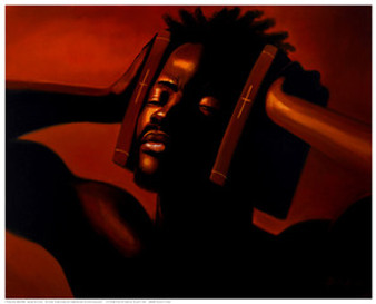 ART PRINT The Protector Sterling Brown