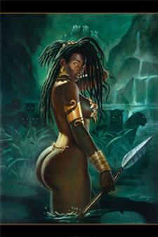 Warrior Art Print - Sterling Brown
