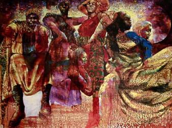 A Room Full Of Sisters Art Print - Paul Goodnight