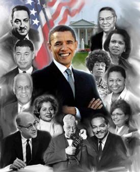 Obama - It Is Possible Art Print - Wishum Gregory