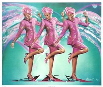 Sorority Sisters Art Print - Alan & Aaron Hicks
