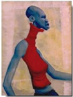 Struttin Limited Edition Art Print - Cbabi Bayoc