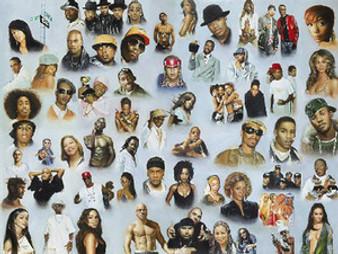 Hip Hop and R&B Art Print - Andy H