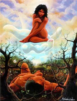 God's Gift To Man Art Print - Lester Kern