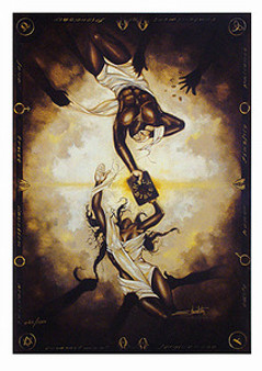 What God Has Joined Limited Edition  Art Print Edwin Lester