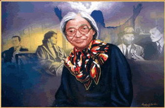 Rosa Parks Limited Edition Art - Freddie H. Larkin