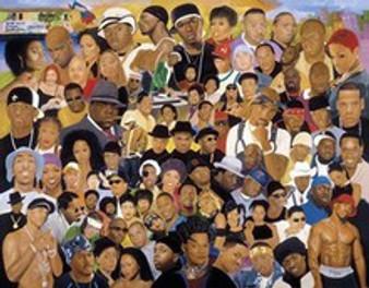 Hip-Hop Evolution Art Print - Kolongi Brathwaite