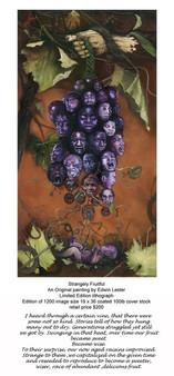 Strangely Fruitful Limited Edition Art Print Edwin Lester
