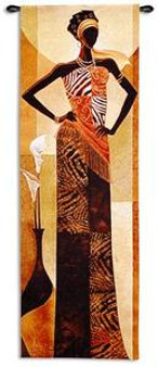 Amira Art Print - Keith Mallett
