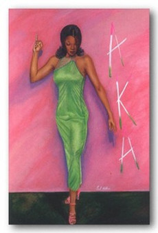 AKA Art Print - Fred Mathews