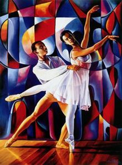 Dancers Art Print Alix - Beaujour