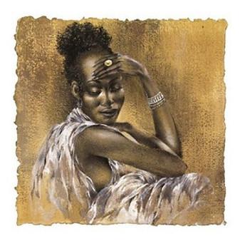Ebony I Art Print - Ben Mogador
