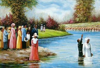 Baptism Art Print (Mini)- Hulis Mavruk