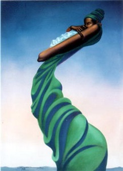 Mother and Child Limited Edition Art Print - Kadir Nelson