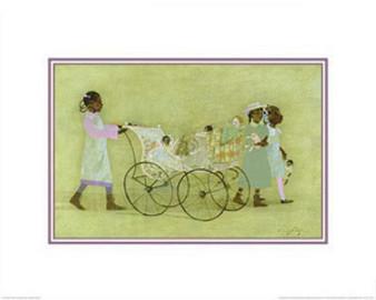 Little Promenade Art Print - Danny Phifer